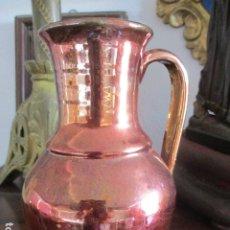 Antigüedades: JARRON CERAMICA DE TRIANA REFLEJOS. Lote 181996686
