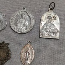 Antigüedades: LOTE ( 5 MEDALLAS ANTIGUAS DIFERENTES ). MÁS MEDALLAS EN MI PERFIL.. Lote 182029112
