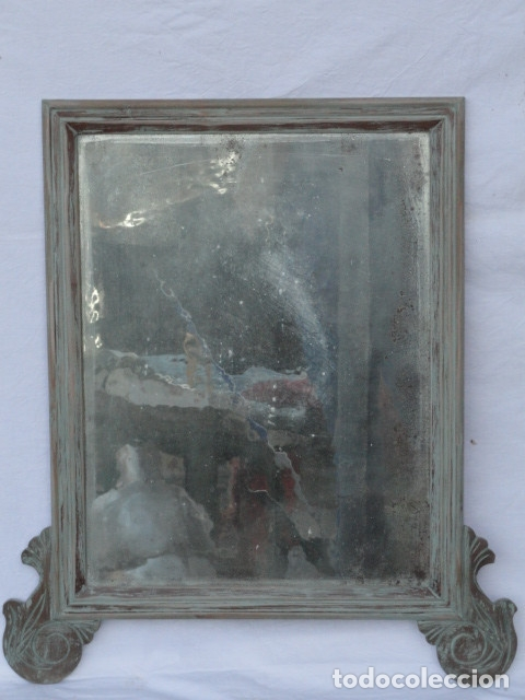 ESPEJO ESTILO ISABELINO. (Antigüedades - Muebles Antiguos - Espejos Antiguos)