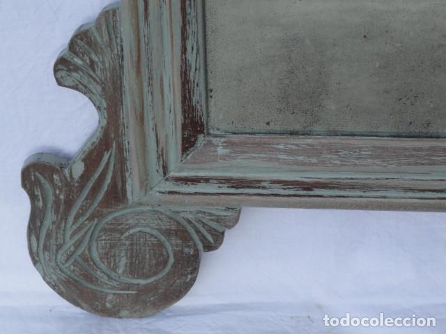 Antigüedades: ESPEJO ESTILO ISABELINO. - Foto 5 - 182033018