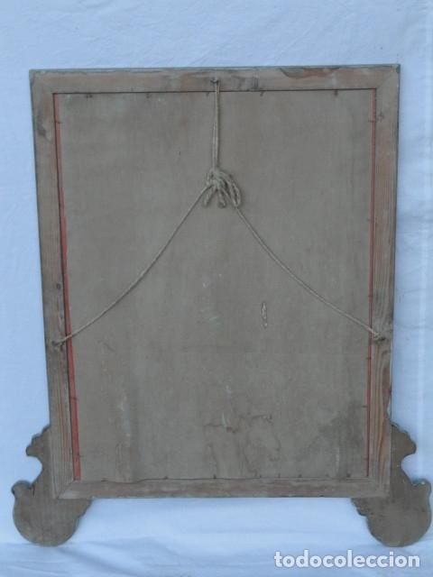 Antigüedades: ESPEJO ESTILO ISABELINO. - Foto 6 - 182033018