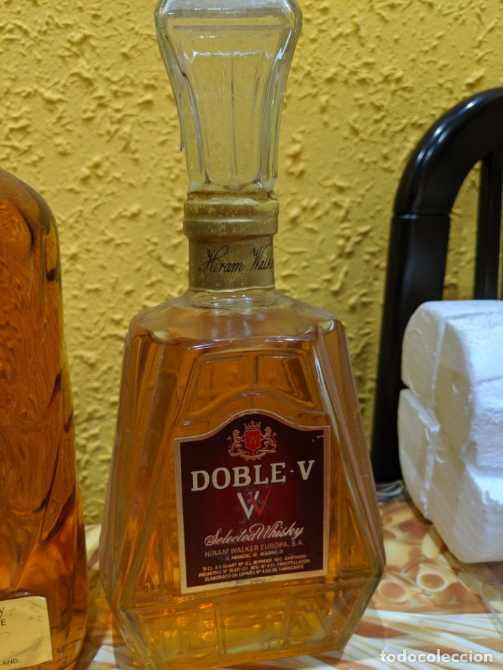 Antigüedades: whisky,lote de año 1970-80 - Foto 2 - 182035420