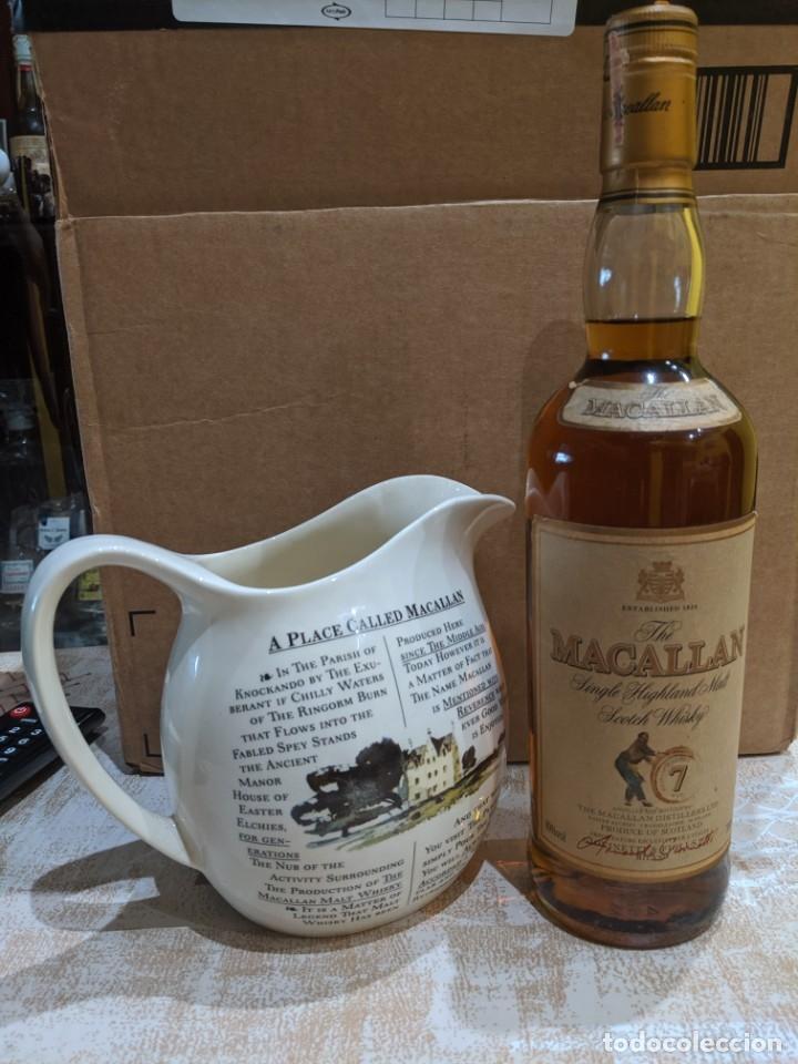 Antigüedades: whisky macallan 7 años año 1980-90 - Foto 2 - 182035918