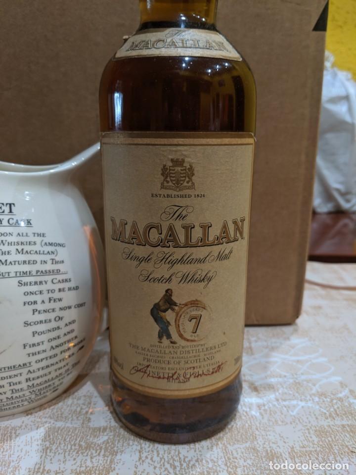 Antigüedades: whisky macallan 7 años año 1980-90 - Foto 3 - 182035918