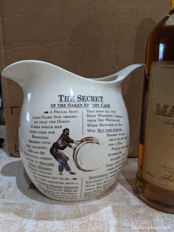 Antigüedades: whisky macallan 7 años año 1980-90 - Foto 4 - 182035918