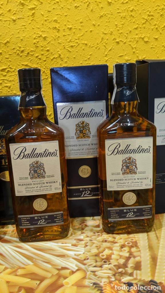 Antigüedades: whisky ballantines diferentes epocas, - Foto 2 - 182037990