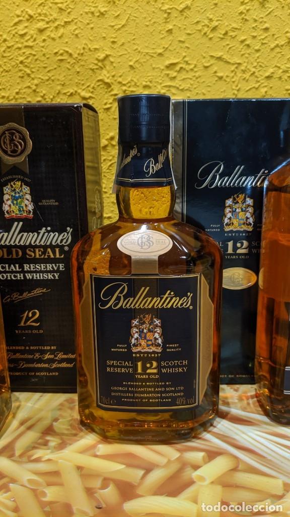 Antigüedades: whisky ballantines diferentes epocas, - Foto 3 - 182037990