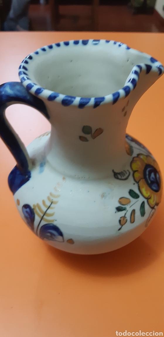 Antigüedades: Jarrita de ceramica talavera años 60 - Foto 2 - 182059110