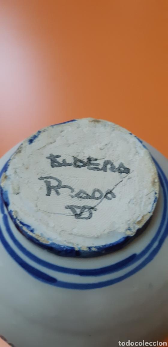 Antigüedades: Jarrita de ceramica talavera años 60 - Foto 4 - 182059110