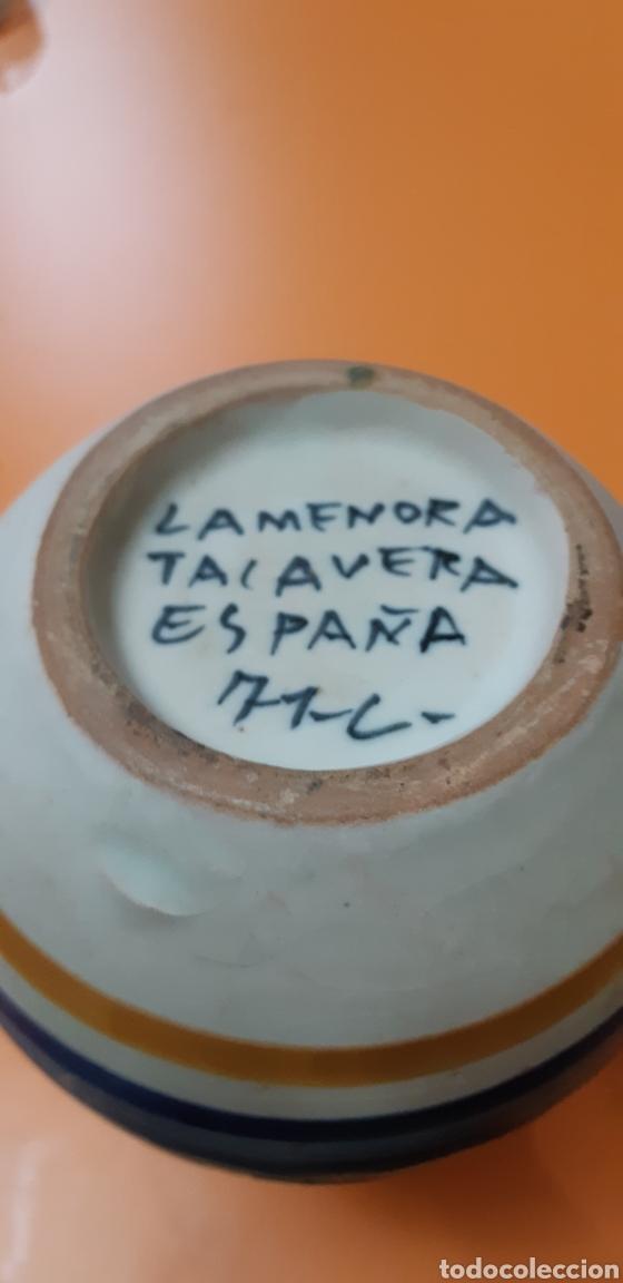Antigüedades: Jarrita ceramica la menora años 70 - Foto 5 - 182059877