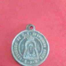 Antigüedades: MEDALLA DE LA CUEVA SANTA. ALTURA. CASTELLÓN. 1,8 CM DE DIÁMETRO.. Lote 182071977