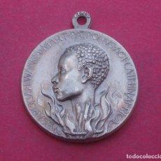 Antigüedades: MEDALLA DE LA VIRGEN Y EL BEATO LUCIEN BOTOVASOA DE AFRICA.. Lote 182086696