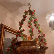 Antigüedades: LAMPARA BOTIVA. Lote 182089278