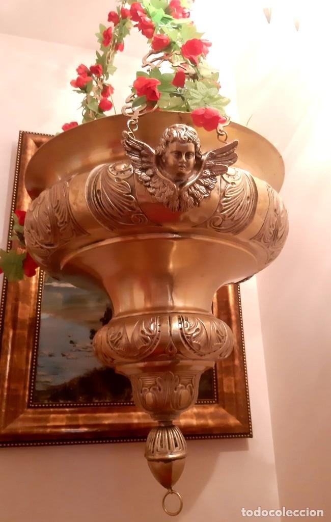 Antigüedades: Lampara Botiva - Foto 2 - 182089278