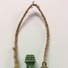 Antigüedades: CANTIMPLORA DE CARRETERO VIDRIADA ( CÁNTARO ) DE LA ALFARERÍA TITO EN UBEDA . Lote 182089668