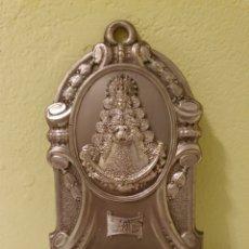 Antigüedades: ANTIGUA BENDITERA DE LA VIRGEN DEL ROCIO. Lote 182089841