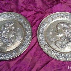 Antigüedades: GRANDES PLATOS LUIS XIV.. Lote 182099023