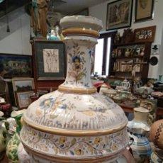 Antigüedades: JARRÓN RUIZ DE LUNA. TALAVERA, TOLEDO, PPIOS XX CERÁMICA. Lote 182103938