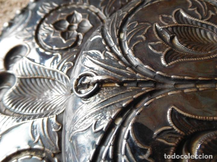 Antigüedades: Bandeja antigua de plata 916 Emilio Bacariza - Foto 8 - 182114518