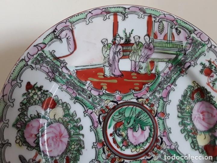 Antigüedades: Plato de porcelana China - Foto 2 - 182128493