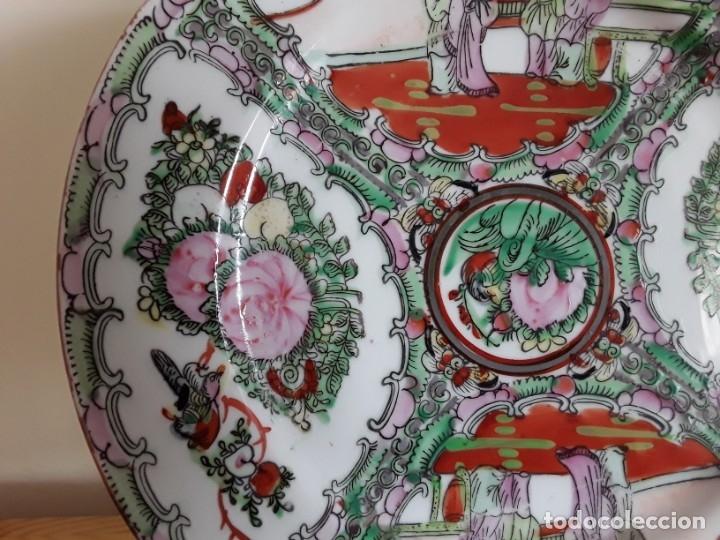 Antigüedades: Plato de porcelana China - Foto 3 - 182128493