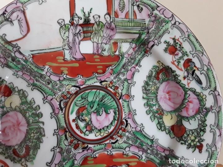 Antigüedades: Plato de porcelana China - Foto 4 - 182128493