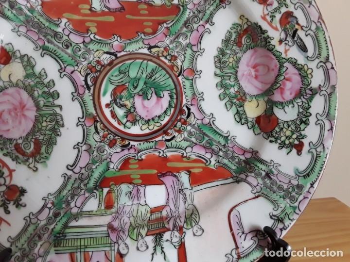 Antigüedades: Plato de porcelana China - Foto 6 - 182128493