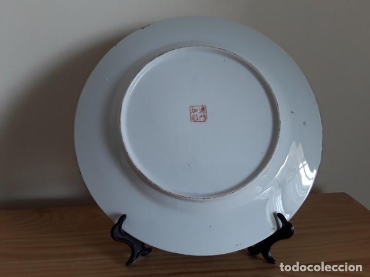 Antigüedades: Plato de porcelana China - Foto 7 - 182128493
