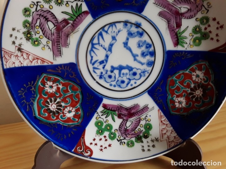 Antigüedades: Plato de porcelana China - Foto 3 - 182128637
