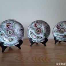 Antigüedades: CUENCOS DE PORCELANA CHINA . Lote 182129105