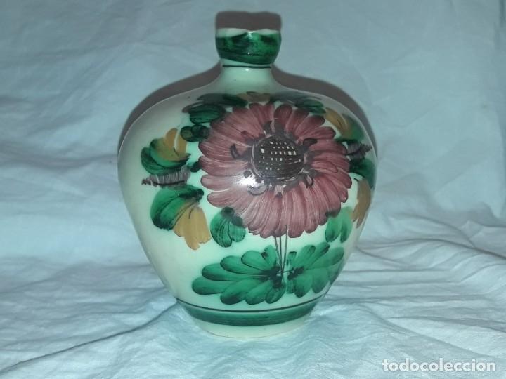 Antigüedades: Preciosa jarra de cerámica Puente del Arzobispo - Foto 2 - 182132990