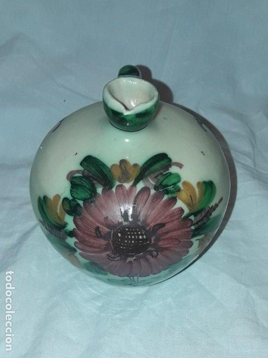 Antigüedades: Preciosa jarra de cerámica Puente del Arzobispo - Foto 5 - 182132990