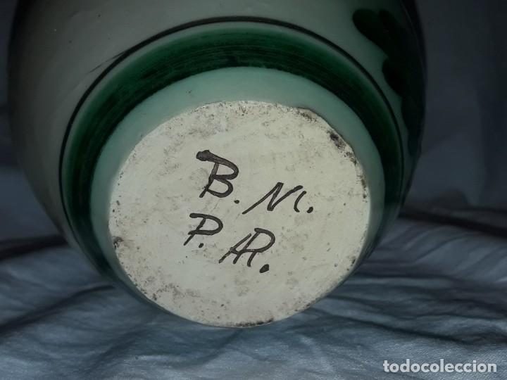 Antigüedades: Preciosa jarra de cerámica Puente del Arzobispo - Foto 7 - 182132990