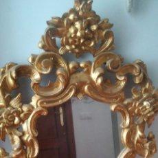 Antigüedades: ESPEJO CORNUCOPIA LOS AÑOS 30-40 DE PAN DE ORO. Lote 182134919
