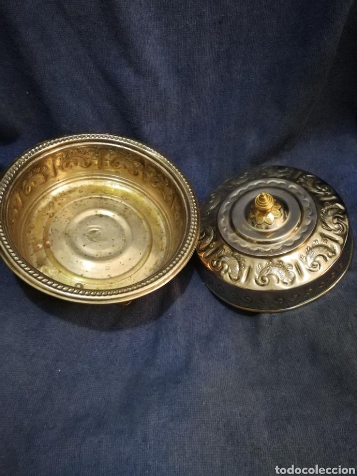 Antigüedades: Frutero y recipientes frutos secos pastas arabe - Foto 4 - 182144545