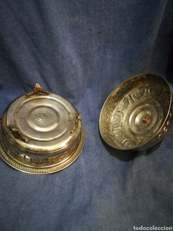 Antigüedades: Frutero y recipientes frutos secos pastas arabe - Foto 5 - 182144545