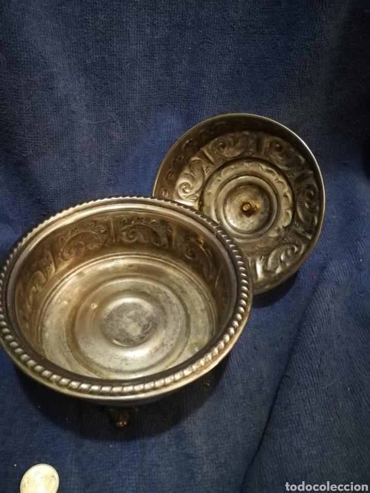 Antigüedades: Frutero y recipientes frutos secos pastas arabe - Foto 9 - 182144545