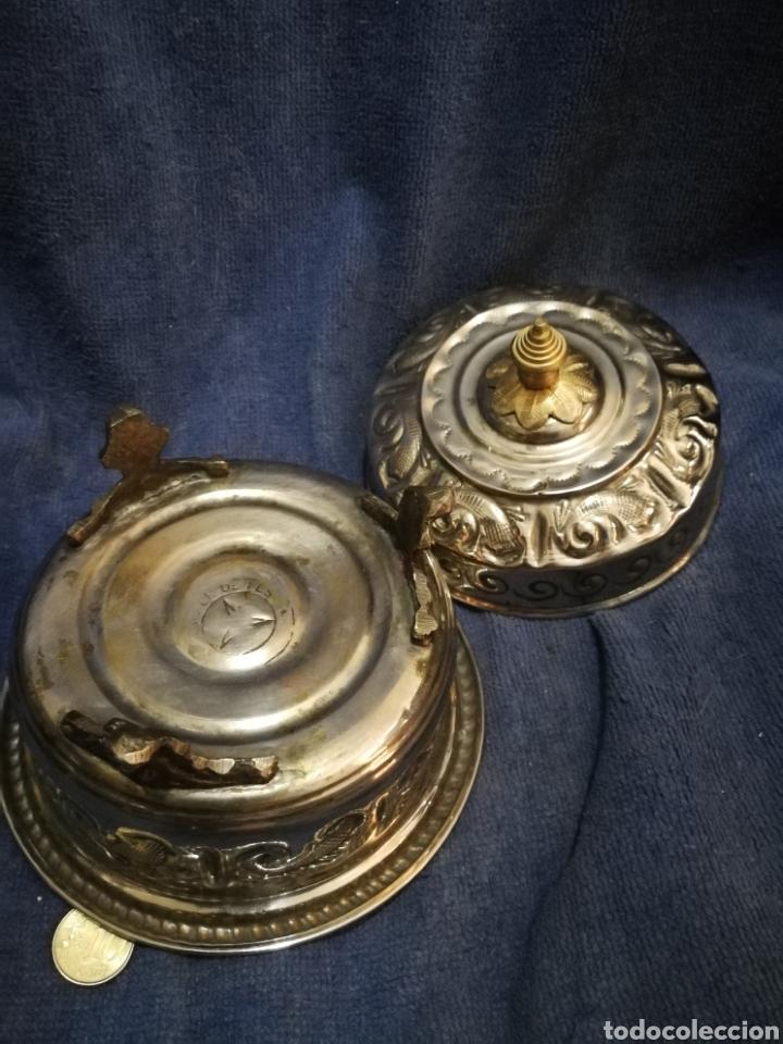 Antigüedades: Frutero y recipientes frutos secos pastas arabe - Foto 12 - 182144545