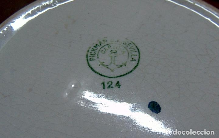 Antigüedades: orinal , escupidera la cartuja, sin golpes ni pelos, sellado.w - Foto 3 - 182152887