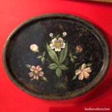 Antigüedades: BANDEJA MODERNISTA ANTIGUA METAL. Lote 182161248