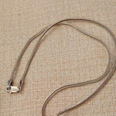 Antigüedades: BONITA CADENA CON COLGANTE PLATA DE LEY 925. Lote 182166982