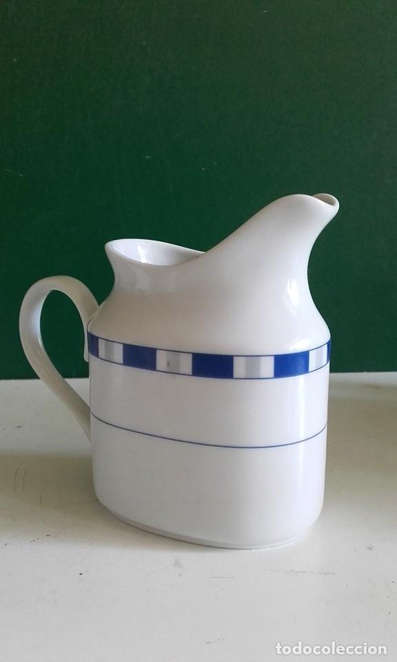 Antigüedades: JUEGO DE CAFÉ DE PORCELANA FINA / 8 TAZAS, 8 PLATOS, CAFETERA, LECHERA /NUEVO - Foto 5 - 182169411
