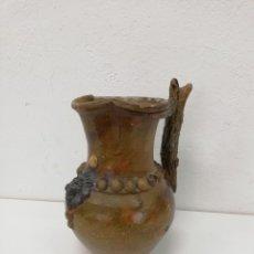 Antiguidades: PIEZA ÚNICA. JARRA DE ENCARGO. BONITA Y ORIGINAL JARRA DE BARRO ANTIGUA. VER FOTOS Y DESCRIPCIÓN. . Lote 182213516