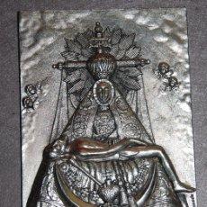 Antigüedades: PLACA VIRGEN DE LAS ANGUSTIAS / APLIQUE VIRGEN DE LAS ANGUSTIAS-08. Lote 182219395