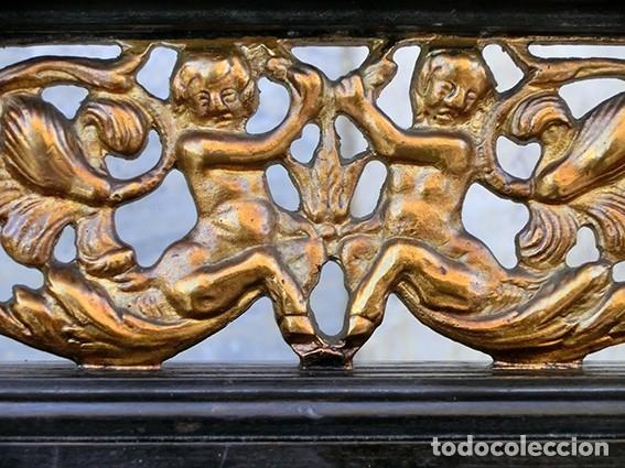 Antigüedades: PRECIOSA GALERÍA DE BARGUEÑO – MADERA – BRONCE – HUESO – FAUNOS – ROLEOS – ÁGUILAS - CORREDOR - Foto 5 - 182220936