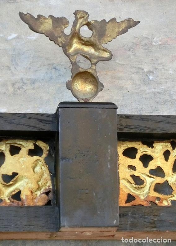Antigüedades: PRECIOSA GALERÍA DE BARGUEÑO – MADERA – BRONCE – HUESO – FAUNOS – ROLEOS – ÁGUILAS - CORREDOR - Foto 24 - 182220936