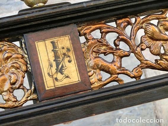 Antigüedades: PRECIOSA GALERÍA DE BARGUEÑO – MADERA – BRONCE – HUESO – FAUNOS – ROLEOS – ÁGUILAS - CORREDOR - Foto 26 - 182220936