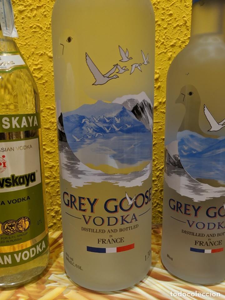 Antigüedades: vodka,lote de botellas año 1980-2000 - Foto 3 - 182221478