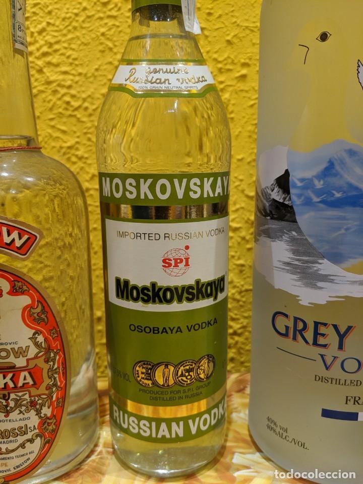 Antigüedades: vodka,lote de botellas año 1980-2000 - Foto 4 - 182221478
