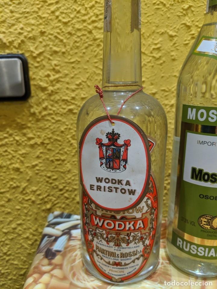 Antigüedades: vodka,lote de botellas año 1980-2000 - Foto 5 - 182221478